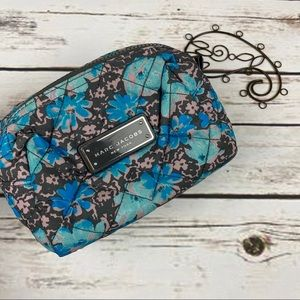 Marc Jacobs Cosmetic Bag Blue Floral